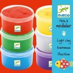 Kit 6 pots de p�tes � modeler - Djeco