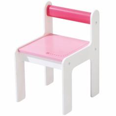 Chaise d�enfant puncto rose - Haba