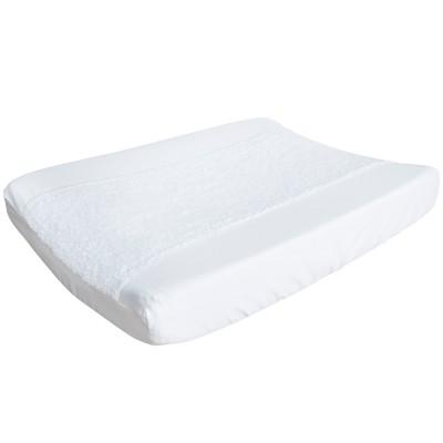 Housse de matelas à langer piqué white (45 x 68 cm)
