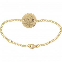 Bracelet C�line 13,5 cm (or jaune 750�) - La F�e Galipette