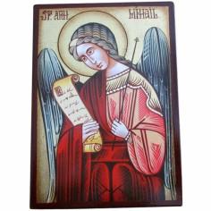 Petite ic�ne Archange Michel (10 x 14 cm) - Mondo Religioso