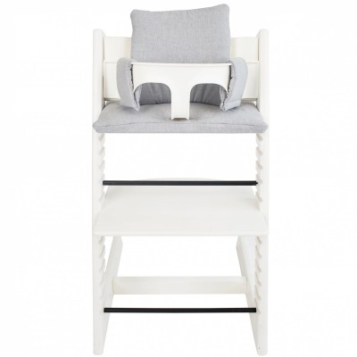 assise sirne grey pour chaise haute stokke tripp trapp. Black Bedroom Furniture Sets. Home Design Ideas