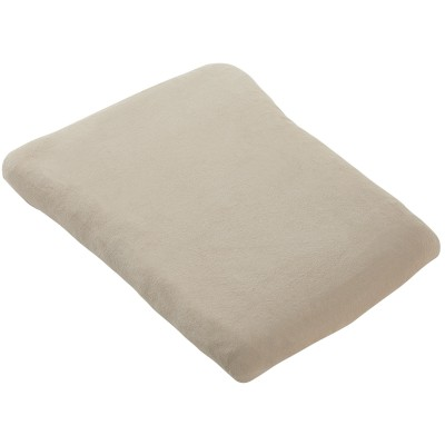 Housse de matelas à langer blanc cassé nougat (50 x 75 cm)