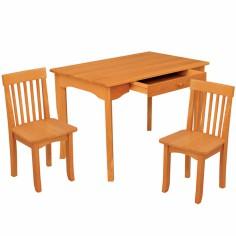 Ensemble table et 2 chaises Avalon miel - KidKraft