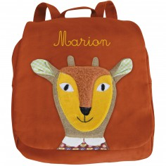 Sac � Dos antilope Les Popipop personnalisable - Moulin Roty