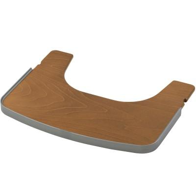 Tablette pour chaise haute tamino bois marron