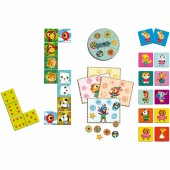 Bingo Memo Domino Ptits copains - Djeco