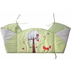 Tour de lit coton bio Foxi (pour lits 60 x 120 cm et 70 x 140 cm) - P'tit Basile