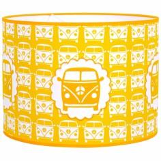 Suspension Little van jaune (diam�tre 35 cm) - Taftan