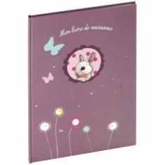 Livre de naissance Foxy violet (40 pages) - Panodia