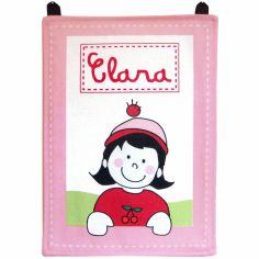 Plaque de porte rose (personnalisable)