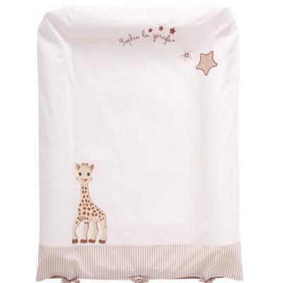 Housse de matelas à langer sophie la girafe (50 x 70 cm)
