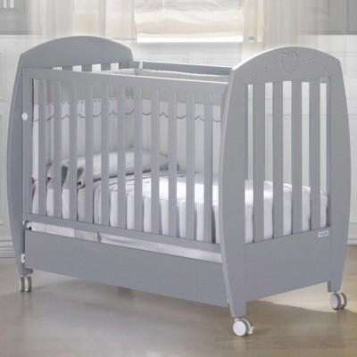 Lit bébé valeria relax gris (60 x 120 cm)