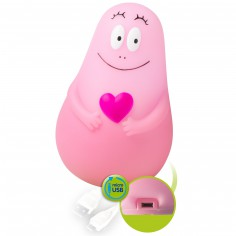 Veilleuse Lumilove Barbapapa rose (USB) - Pabobo
