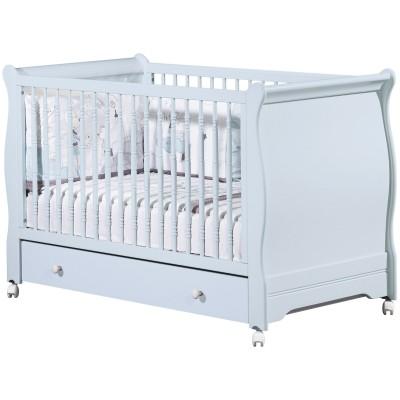 lit volutif elodie bleu little big bed et son tiroir 70 x. Black Bedroom Furniture Sets. Home Design Ideas