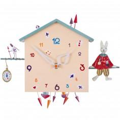 horloge des horloges murales pour la chambre d 39 enfant. Black Bedroom Furniture Sets. Home Design Ideas