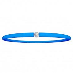 Bracelet diamant My First Diamond bleu �lectrique - My First Diamond