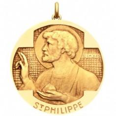 M�daille Saint Philippe (or jaune 750�)