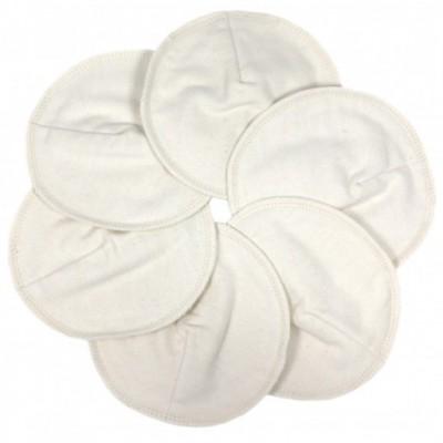 Coussinets d'allaitement lavables en coton bio (6 pièces)