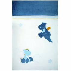 Couvre-lit Victor et Lucien (100 x 140 cm) - Noukie's