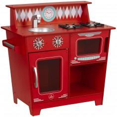 Cuisine et marchande cuisines et jeux de la marchande - Cuisine bois rouge ...