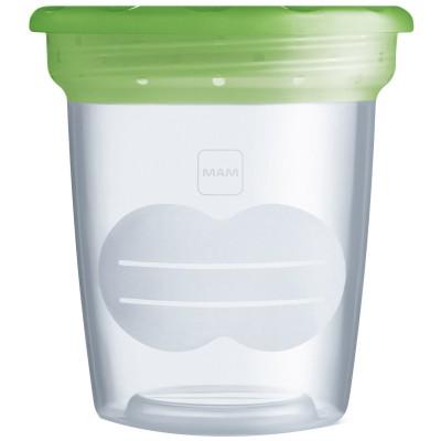 Lot de 5 pots de conservation pour lait maternel (120 ml)