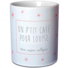 Mug �toiles rose poudr� (personnalisable) - Les Griottes
