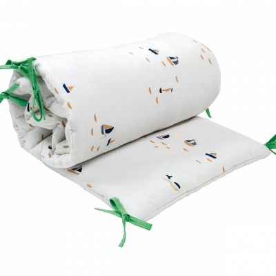 tour de lit voiliers pour lits 60 x 120 et 70 x 140 cm. Black Bedroom Furniture Sets. Home Design Ideas