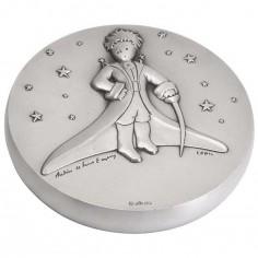 Presse-papiers Petit Prince dans les �toiles (bronze argent�) - La Monnaie de Paris