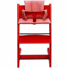 coussin chaise haute cru jollein berceau magique. Black Bedroom Furniture Sets. Home Design Ideas