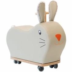 Porteur forme lapin roue folle