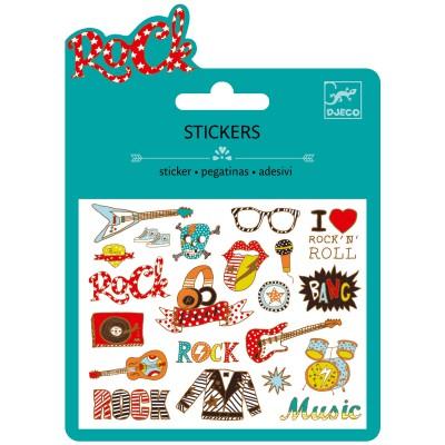Minis stickers pop et rock
