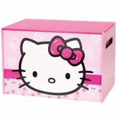 De jolis coffres jouets pour une chambre bien rang e - Tete hello kitty ...