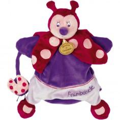 Doudou marionnette Coccinelle (25 cm) - Doudou et Compagnie