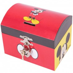 Tirelire Mickey et Minnie - Trousselier