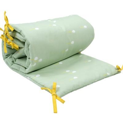 tour de lit ballons vert clair pour lits 60 x 120 et 70 x. Black Bedroom Furniture Sets. Home Design Ideas