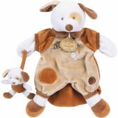 Doudou marionnette Dafy le chien (25 cm) - Doudou et Compagnie