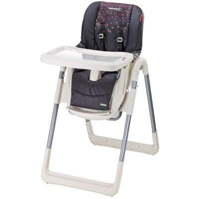 Chaise haute pliable kaléo aristo black