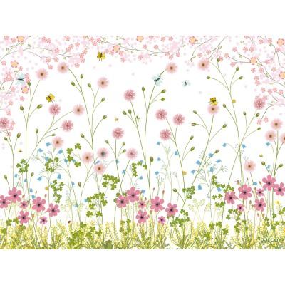 Set de table crème fleurette (40 x 30 cm)