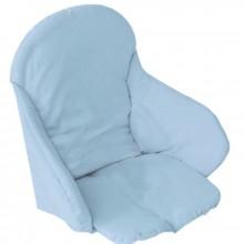 coussin de chaise bleu clair babycalin berceau magique. Black Bedroom Furniture Sets. Home Design Ideas
