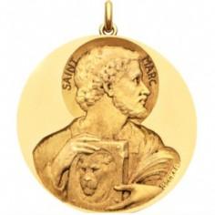 M�daille Saint Marc (or jaune 750�)
