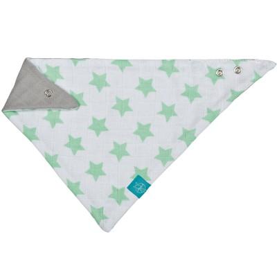 Bandana étoiles vert pâle