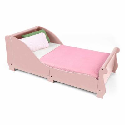lit enfant tra neau rose 70 x 140 cm kidkraft. Black Bedroom Furniture Sets. Home Design Ideas