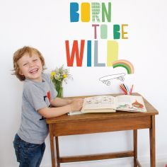 Stickers mural Born to be wild - Mimi'lou