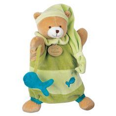 Doudou marionnette Theodore l'ours  - Doudou et Compagnie