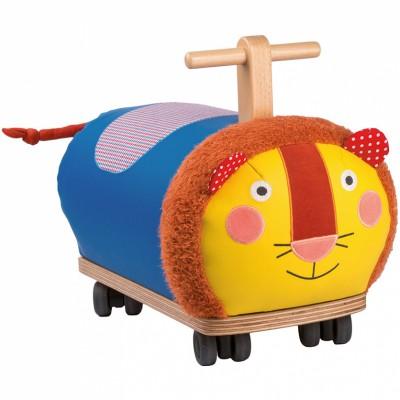 Lion à roues multi-directionnelles Les Popipop  par Moulin Roty