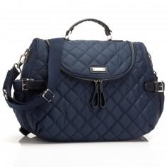 sac langer maman satchel jumbo bleu marine babymel. Black Bedroom Furniture Sets. Home Design Ideas