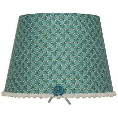 abat jour retro vintage turquoise pour lampe 20 x 15 cm moepa petit de 30 cm berceau. Black Bedroom Furniture Sets. Home Design Ideas