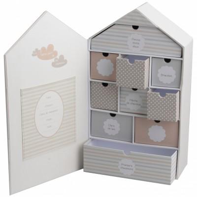coffret maison souvenirs bb amadeus berceau magique. Black Bedroom Furniture Sets. Home Design Ideas