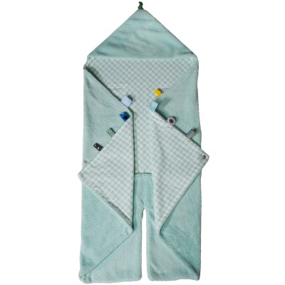 Couverture nomade trendy wrapping mint (0-12 mois)
